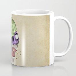 Angry cupcake Cartoon Tattoo Flash Coffee Mug