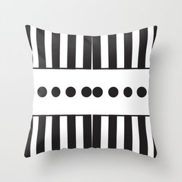 "Dot Your j's - The Didot ""j"" Project Throw Pillow"