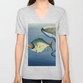 Fish Bait Unisex V-Neck