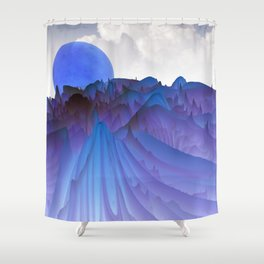 experiments on fractals -2b- Shower Curtain