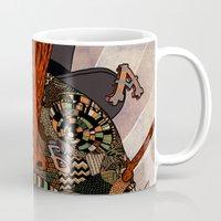swallow Mugs featuring swallow frogs by zansky