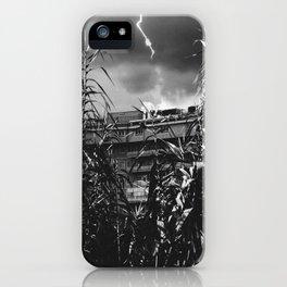 Thunderstorm in Tivoli iPhone Case