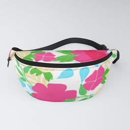 03 Pattern of Flowers Fanny Pack