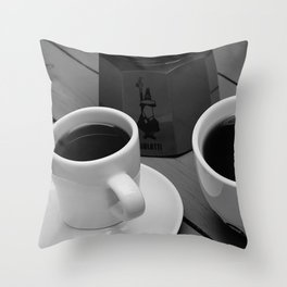 Coffe for two Throw Pillow
