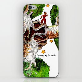 The Little Prince: Beware of Baobabs iPhone Skin