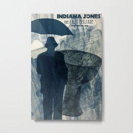 We named the dog Indiana... Metal Print