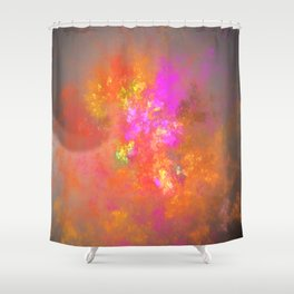 Give your light to the world! Shower Curtain