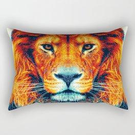 Lion - Colorful Animals Rectangular Pillow