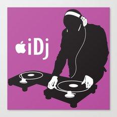 I DJ (Pink)  Canvas Print