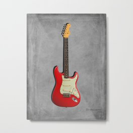 The 63 Stratocaster Metal Print