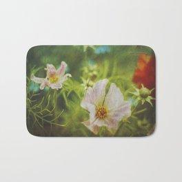 flwrs - summer flowers Bath Mat