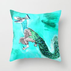 Velocicock  Throw Pillow