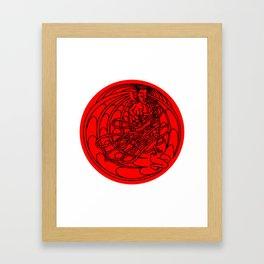 Manananggal Framed Art Print