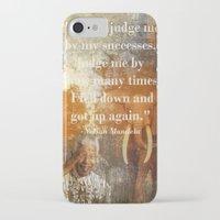 mandela iPhone & iPod Cases featuring Mandela 2 by Shalisa Photography