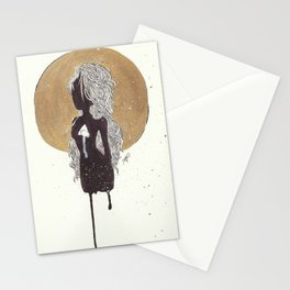Hollow Planets Stationery Cards