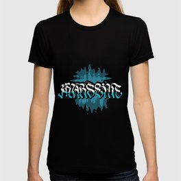 Marseille (Blue background) T-shirt