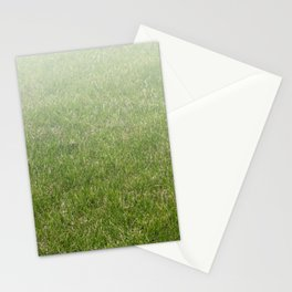 Light-to-Dark Green Ombre Gradient Grass Stationery Cards