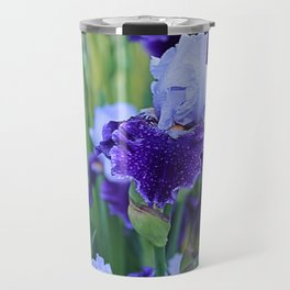 Purple Flags Travel Mug