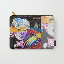 Mae West Collage Art Carry-All Pouch