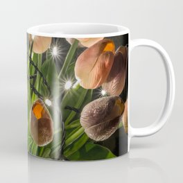 Festive Lights and Flowers Coffee Mug