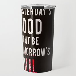 Metal Gear Solid Quote Travel Mug
