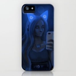Illuminated by Sound iPhone Case