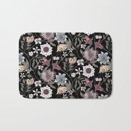 colorful floral pattern II Bath Mat