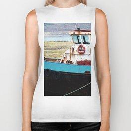 Rusted ship Biker Tank