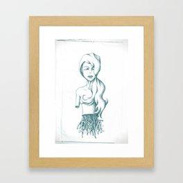 WEEPING ROCK, ROCK. Framed Art Print