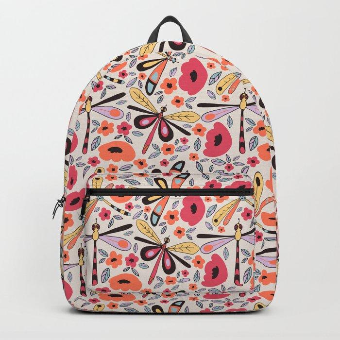 Dragonflies bloom Backpack