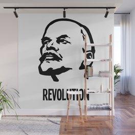 Lenin Revolution Wall Mural