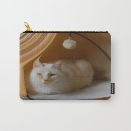 My cat is my zen master Carry-All Pouch