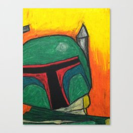 Star Wars Boba Fett Canvas Print