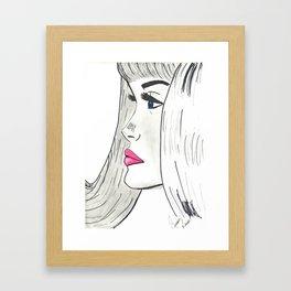 Daydreaming Framed Art Print