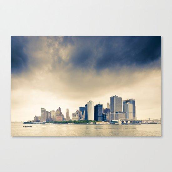 Manhattan Storm Canvas Print