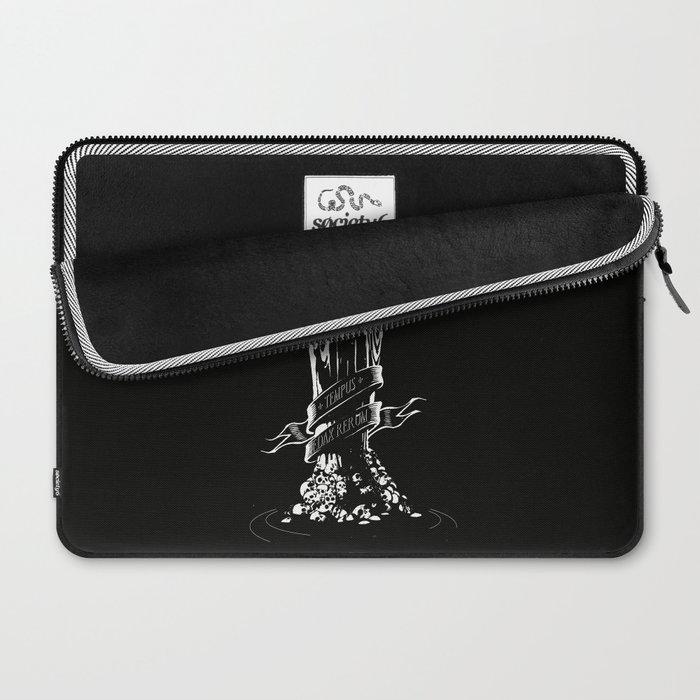 TEMPUS EDAX RERUM Laptop Sleeve