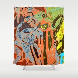 Court Jester #1b Shower Curtain