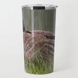 sleeping with one eye open Travel Mug