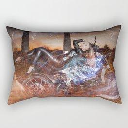 Hells Angel Rectangular Pillow
