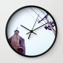 Trans-Mission Wall Clock