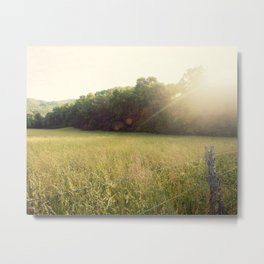 Morning in Cades Cove Metal Print