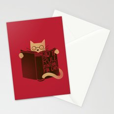 How to Rule the Internet (for cats) Stationery Cards
