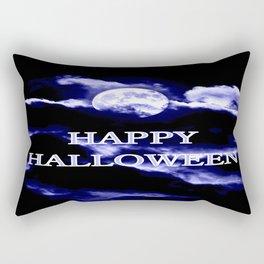 Halloween Blue Moon Rectangular Pillow