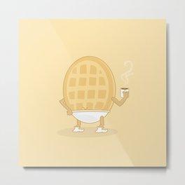 Morning Breakfast Metal Print