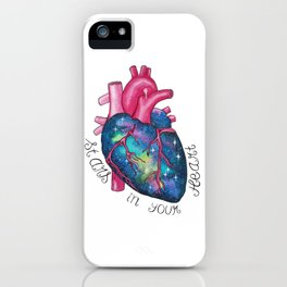 Stars in Your Heart iPhone Case