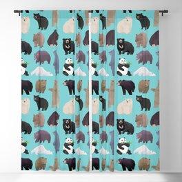Bears Bears pattern Blackout Curtain