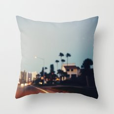 Stop & Glow Throw Pillow
