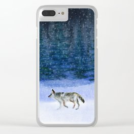 Peace on Earth Clear iPhone Case