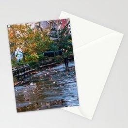 Rainy Park Stationery Cards