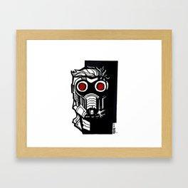 """STARLORD"" Framed Art Print"